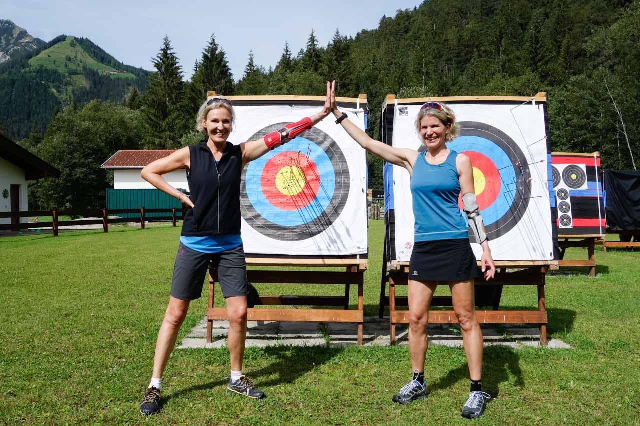 Langlaufschule Achensee Bogenbiathlon Laufen BSC-Achensee Freude Spaß Pertisau