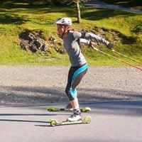 Langlaufschule Achensee Franziska Skirollern Training Skating Karwendeltäler Pertisau